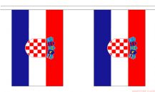 CROATIA BUNTING - 9 METRES 30 FLAGS